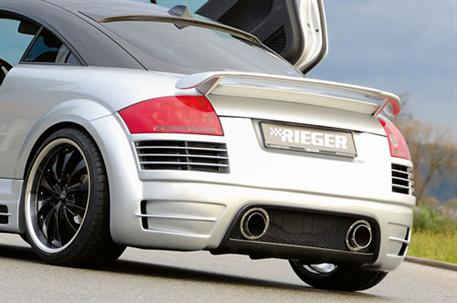 RIEGER Zadní nárazník pro Audi TT 8N