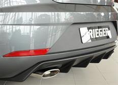 Rieger tuning vložka zadního nárazníku pro Seat Leon Cupra (5F) 3-dvéř. SC, 5-dvéř. facelift, r.v. od 01/17-
