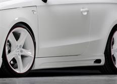 Rieger tuning boční práh pro Audi A1 (8X) 3/5-dvéř. (Sportback), r.v. od 08/10-