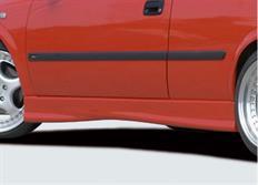 Rieger tuning boční práh pro Opel Astra G 3-dvéř.