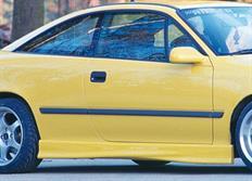 Rieger tuning boční práh pro Opel Calibra 3-dvéř. r.v. od 03/90-