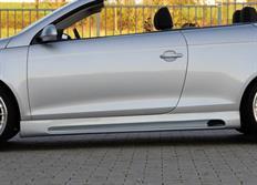 Rieger tuning boční práh s prolisem a výřezem pro Volkswagen Eos (1F) r.v. od 04/06-