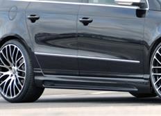 Rieger tuning boční práh s prolisem a výřezem pro Volkswagen Passat (3C) Kombi/Sedan, r.v. od 03/05-