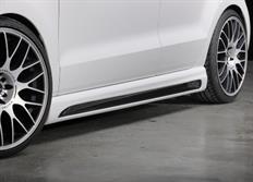 Rieger tuning boční práh s prolisem a výřezem pro Volkswagen Polo VI (6R) a Polo VI GTI (6R) 3/5-dvéř. r.v. od 04/09-
