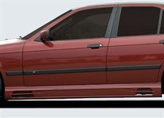 Rieger tuning boční práh s prolisem a výřezy pro BMW řady 3 E36 Coupé, Cabrio, Sedan, Touring, Compakt, r.v. od 01/90-12/99