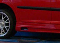 Rieger tuning boční práh s prolisem a výřezy pro Peugeot 207 3-dvéř. Sedan/5-dvéř. Cabrio, r.v. od 03/07-