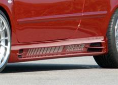 Rieger tuning boční práh s prolisem a výřezy pro Peugeot 307 Cabrio CC/Sedan, r.v. od 04/01