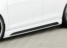 Rieger tuning boční práh s prolisem a výřezy pro Seat Leon (5F) /Leon Cupra (5F) /Leon FR (5F), 3-dvéř. r.v. od 10/12-