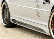 Rieger tuning boční práh s prolisem a výžezy pro BMW řady 3 E46/E46 M3 Cabrio/Compact/Coupé/Sedan