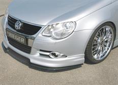 "Rieger tuning lipa ""bended version"" pod přední spoiler Rieger č. 59426 pro Volkswagen Eos (1F) Cabrio, před faceliftem, r.v. od 04/06-11/10"