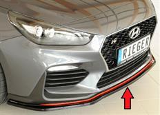 Rieger tuning lipa pod originální přední nárazník pro Hyunidai i30 N-Performance (PDE) 5-dvéř. r.v. od 07/2017-