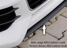 Rieger tuning lipa pod přední spoiler č. S 00044100 pro Audi A1 (8X) 3/5-dvéř. (Sportback), r.v. od 08/10-12/14