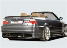 Rieger tuning lipa pod zadní nárazník Rieger č. 50208/50213/49035/49036 pro BMW řady 3 E36/E46 Convertible/Coupé/Sedan/Touring