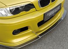 """Rieger tuning spoiler """"flat version"""" pod originální přední nárazník pro BMW řady 3 E46 M3 Coupé/Convertible, r.v. od 06/00-"""