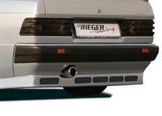 Rieger tuning spoiler pod originální přední nárazník nárazník vozu Mercedes-Benz 190 (W201) Sedan