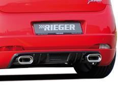 Rieger tuning spoiler pod originální zadní nárazník pro Fiat Grande Punto (199) 3/5-dvéř. mimo EVO, r.v. od 10/2005-