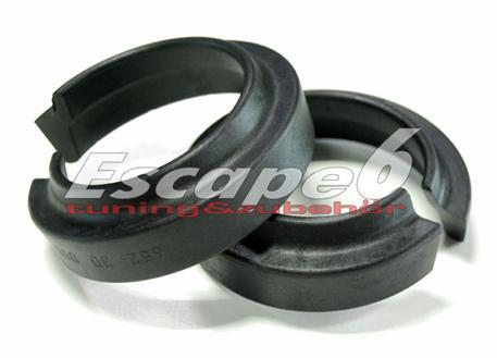 Podložky pro zvýšení vozu ST Suspensions pro BMW řady 6 (E63/E64), cabrio/coupé r.v. od 01/04 zadní náprava +20 mm