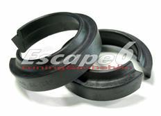 Podložky pro zvýšení vozu ST Suspensions pro BMW řady 5 (E39), sedan r.v. od 4/96 do 5/03 zadní náprava +20 mm