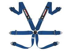 Sandtler Sponsor šestibodový bezpečnostní pás s homologací FIA modrý