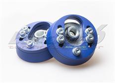 Nastavitelné horní uložení Silver Project pro VW Golf 4 modré