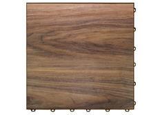 Swisstrax dlaždice modulární podlahy typu Vinyltrax, 40 x 40 cm, Javor střední (Medium Maple)