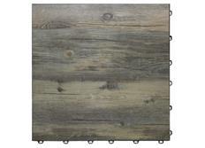 Swisstrax dlaždice modulární podlahy typu Vinyltrax, 40 x 40 cm, Recyklovaná borovice (Reclaim Pine)