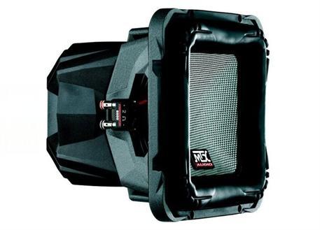 Subwoofer MTX Audio T810S-22, čtvercový, průměr 10 palců / 25 cm