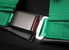 TAKATA 4-bodový sportovní pás Drift III černý s uchycením na sponu