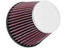 Univerzální vzduchový filtr K&N, kónus, průměr příruby 64 mm, průměr filtru na začátku/na konci 133 mm/89 mm, délka 114 mm