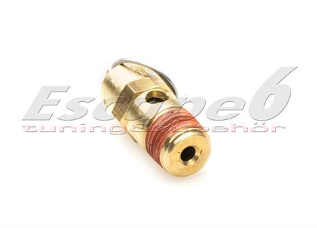 VIAIR pojistný bezpečnostní ventil pro uvolnění přebytečného tlaku vzduchu nad 175 PSI (12,066 bar)
