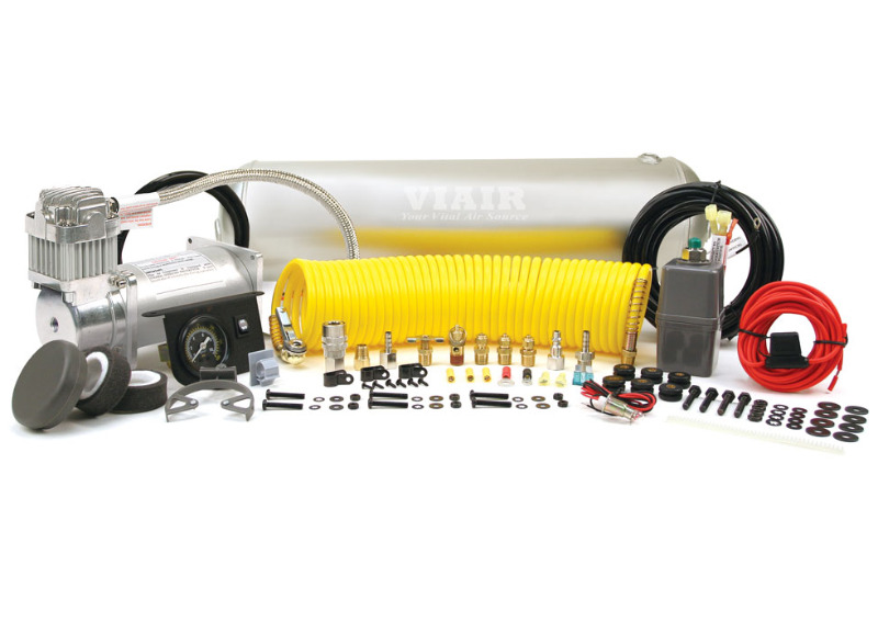 VIAIR Heavy Duty On Board Air System - kompletní souprava pro distribuci tlakového vzduchu s kompresorem 400C