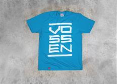 Vossen pánské triko Stack Turquoise tyrkysové