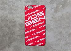 Vossen pouzdro na iPhone 6/6S červené 'Repeat' soft touch