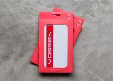 Vossen pouzdro na iPhone 6/6S bílé soft touch