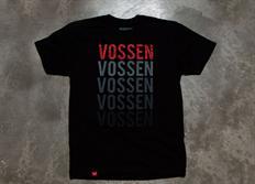 Vossen pánské triko 'Repeat' černé