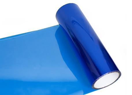 Transparentní fólie modrá