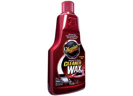 Meguiar's Cleaner Wax Liquid - tekutá, lehce abrazivní leštěnka s voskem, 473 ml