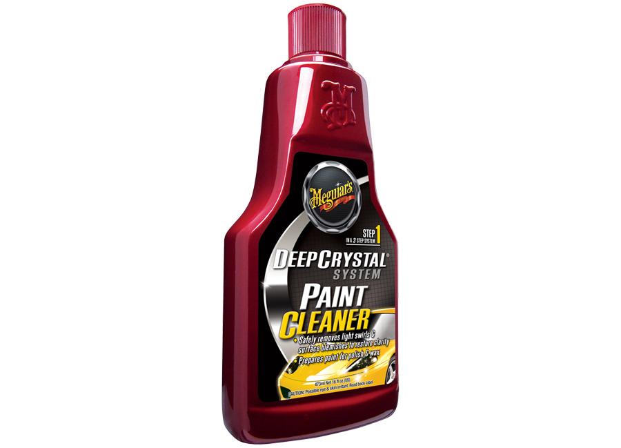 Meguiar's Deep Crystal Step 1 Paint Cleaner - leštěnka pro odstranění lehkých defektů laku, 473 ml
