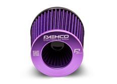 Raemco univerzální vzduchový filtr fialový se vstupem 77 mm s možností redukce na 70 nebo 63 mm