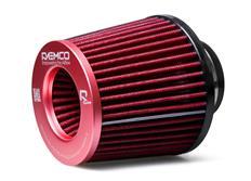 Raemco univerzální vzduchový filtr červený se vstupem 77 mm s možností redukce na 70 nebo 63 mm