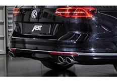 ABT set zadního spoileru a koncovek tlumiče výfuku pro VW Passat 3G00