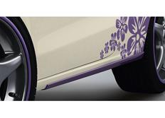 ABT sada nástavců bočních prahů pro Audi A1