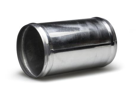 Hliníková spojka pro silikonové hadice o vnitřním průměru 60 mm