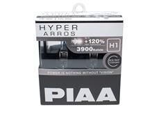 Autožárovky PIAA Hyper Arros 3900K H1 - o 120 procent vyšší svítivost, zvýšený jas