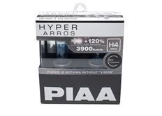 Autožárovky PIAA Hyper Arros 3900K H4 - o 120 procent vyšší svítivost, zvýšený jas