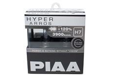 Autožárovky PIAA Hyper Arros 3900K H7 - o 120 procent vyšší svítivost, zvýšený jas