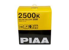 Autožárovky PIAA Solar Yellow 2500K HB (pro patici HB3 i HB4) - žluté světlo do extrémních podmínek