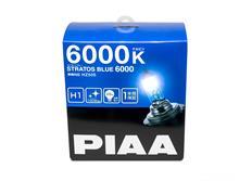 Autožárovky PIAA Stratos Blue 6000K H1 - studené bílé světlo s xenonovým efektem