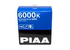 Autožárovky PIAA Stratos Blue 6000K pro patice HB3 a HB4 - studené bílé světlo s xenonovým efektem