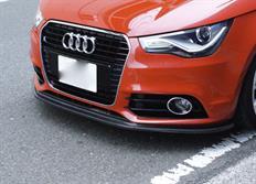 balance it spoiler pod originální přední nárazník Audi A1 3-dveřové / Sportback (typ 8X) 2011-2014 S-line